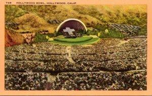 California Hollywood The Hollywood Bowl 1955