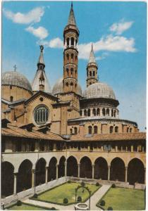 PADOVA, Basilica of S. Antony, view over Cupolas and Bell towers of Noviziato