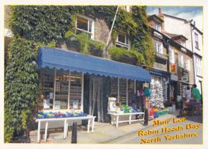 Robin Hoods Bay Kodak Camera Shop Jam Jars Vegetables Yorkshire Postcard
