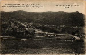 CPA ARDES-sur-COUZE Route de St-GERMAIN LEMBRON virage (407549)