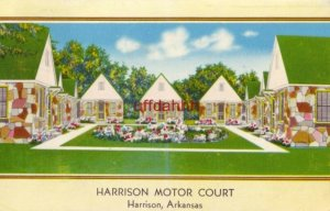1956 HARRISON MOTOR COURT, Harrison, AR Watch for Neon Sign