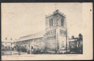 Northamptonshire Postcard - St Peter's Church, Northampton A2278