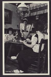Interior of the Korporaal,Netherlands Postcard