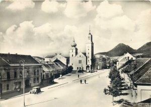 Vintage Postcard Povazska Bystrica