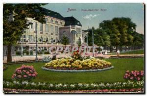 Old Postcard Bonn Poppelsdorf Allee