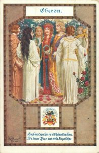 Oberon king of the fairies in medieval and Renaissance literature postcard