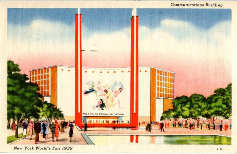 NY - New York World's Fair, 1939. Communications Building