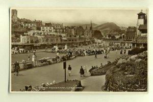 tp7602 - Somerset - Victoria Promenade by the Dogem Ride, Ilfracombe - Postcard
