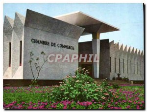Postcard Modern Chamber of Commerce in Niamey