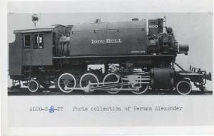 RPPC of Alco 2-8-2T Long Bell # 800 Tank Steam Locomotive