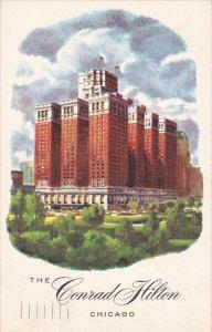 Illinois Chicago The Conrad Hilton Hotel 1956