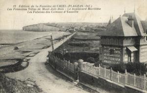 CPA Edition de la Fonciere de CRIEL-Plage Les Premieres Villas de Mon (105505)