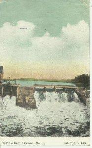 Corinna, Me., Middle Dam
