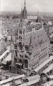 Netherlands Gouda Stadhuis Town Hall 1956 Real Photo