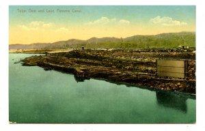 Panama - Canal Zone. Gatun Lake & Dam