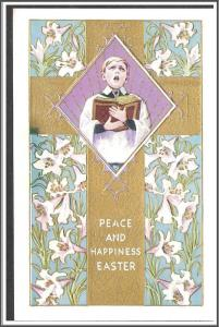 Peace & Happiness Easter Embossed - [MX-215]