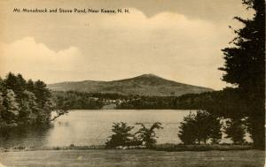 NH - Keene. Mount Monadnock and Stone Pond