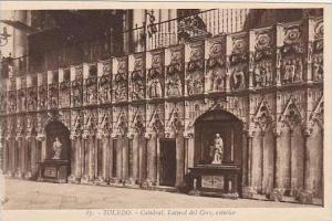 Spain Toledo Catedral Lateral del Coro exterior
