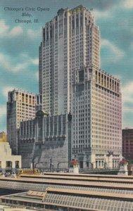 CHICAGO, Illinois, 30-40s; Civic Opera Building