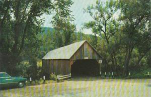 Covered Bridge Woodstock Old Covered Bridge Vermont