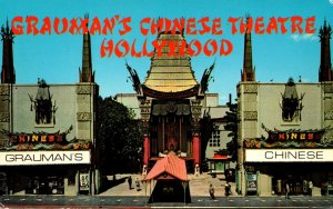 California Hollywood Grauman's Chinese Theatre Entrance
