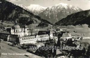 Krottenkopf Germany, Deutschland Postcard Kloster Ettal Krottenkopf Kloster E...