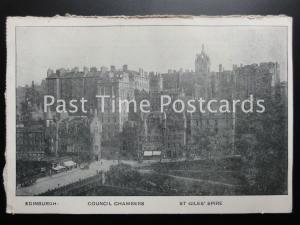 Edinburgh COUNCIL CHAMBERS St Giles' Spire ADVERT Ed Life Assurance Co 170515