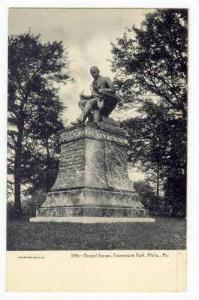 Drexel Statue, Fairmount Park, Philidelphia, Pennsylvania, Pre-1907