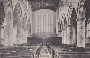Interior Of Old Machar Cathedral, ABERDEEN, Scotland, UK, 1900-1910s