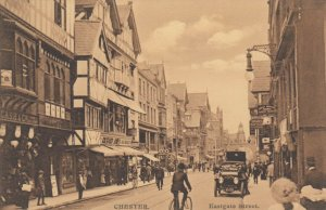 CHESTER , England , 00-10s ; Eastgate street