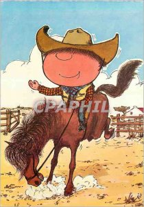 Postcard Darling Modern Cowboy Horse