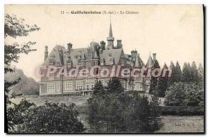 Postcard The Old Castle Gaillefontaine
