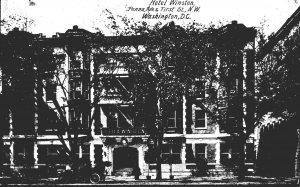 Washington D C Hotel Winston Tennessee Avenue & First Street