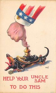 Uncle Sam Help Your Uncle Sam USA Unused