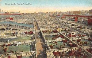Stockyards Kansas City, Missouri, USA Stock Yard 1927