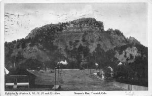 Trinidad Colorado~Simpson's Rest~High Cliff~Publ by 5&10c Store~1908 Postcard