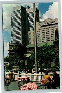 Montreal Qu- Quebec, Queen Elizabeth Hotel, La Guinguette, Chrome Postcard