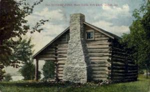 Settlers Cabin Dixon IL 1908