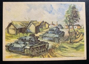 Mint Picture Postcard Germany WW2 exploration of bubrowska