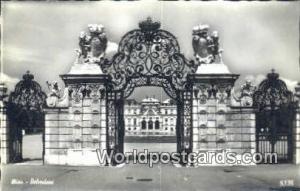 Austria Wien - Vienna Belvedere Real Photo