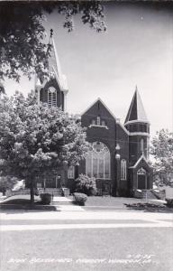 Zion Reformed Church Waukon Iowa Real Photo