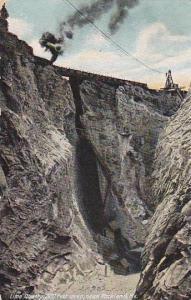 Lime Quarry, 300 Feet Deep, Near Rockland, Maine, 1900-1910s