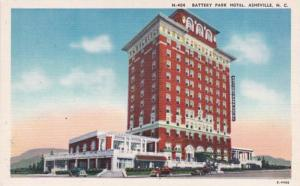 North Carolina Asheville Battery Park Hotel