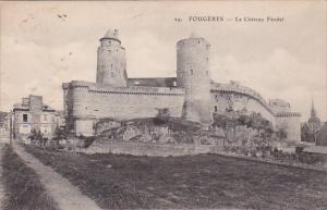 Fraance Fougeres Le Chateau Feodal