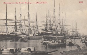 CALCUTTA , India , 00-10s ; Shipping on the River Hughly