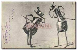 Postcard Old Pots Fencing