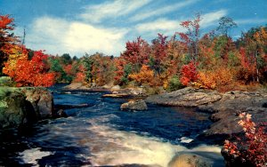 VT - Autumn on the River