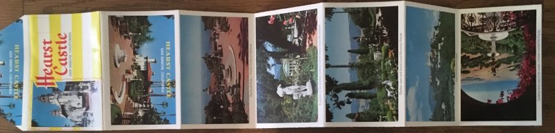 Hearst Castle fold out