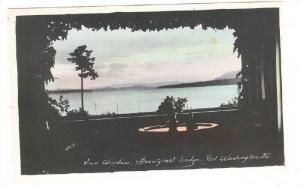 RP: View Window , Beautyrest Lodge , Port Washington , B.C. , Canada , 1920-40s