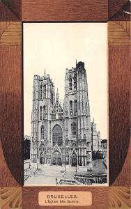 Bruxelles Belgium, Belgique, Belgie, Belgien L'Eglise Ste Gudule Bruxelles L'...